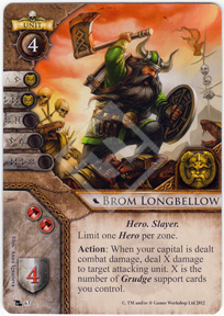 Brom Longbellow Card