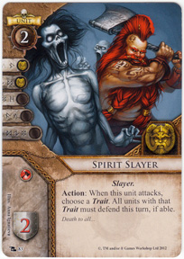 Spirit Slayer Card