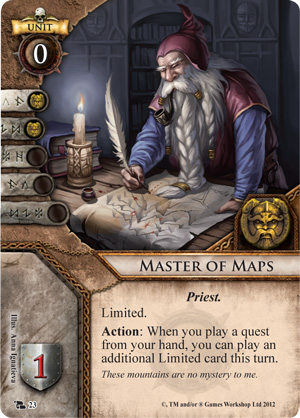 Master of Maps Card