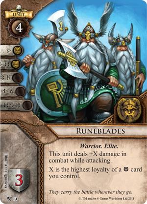 Runeblades Card