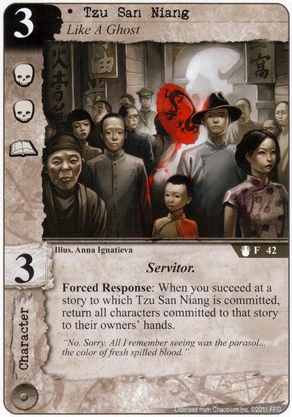 Tzu San Niang Card