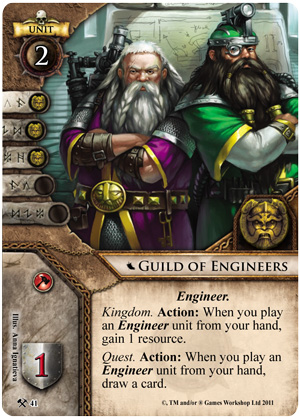 Guild of Engineers Card