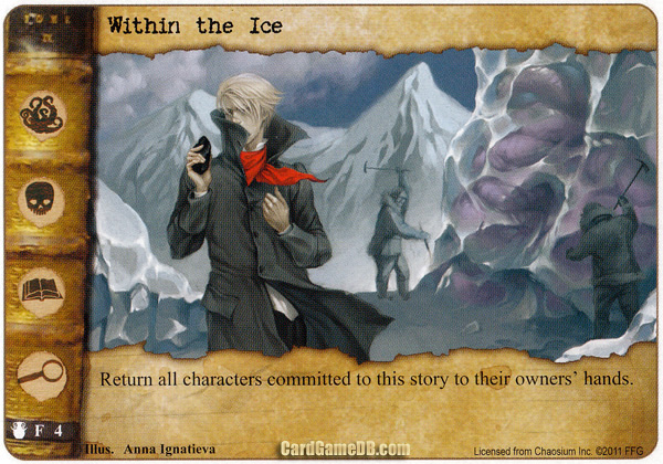 Within the Ice Card